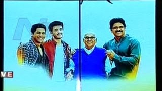 special av on akkineni family at akhil akkineni grand launch