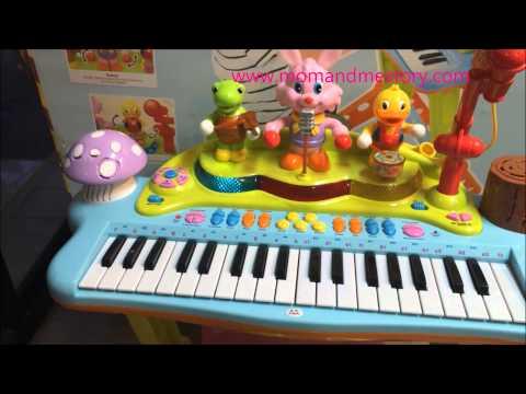 Huile Toys Piano เปียโนไฟฟ้าสำหรับเด็กเล็ก