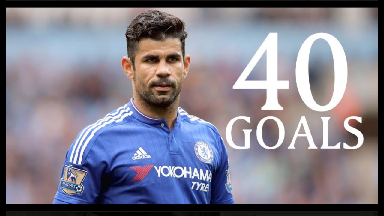 Diego Costa First 40 Goals For Chelsea FC HD