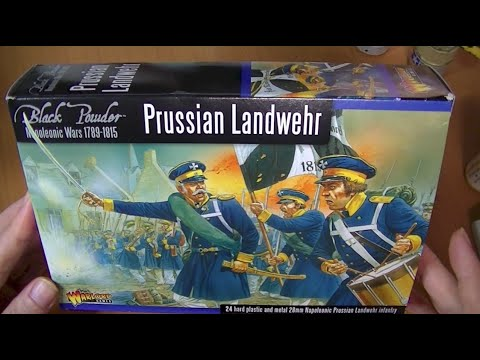 Warlord Games Prussian Landwehr Review.