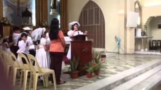 Dindin's 1st communion Thumbnail
