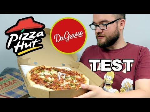 PIZZA HUT vs. DAGRASSO – konfrontacja sieciowych pizzerii – DOGRYWKA | CO JA JEM #33