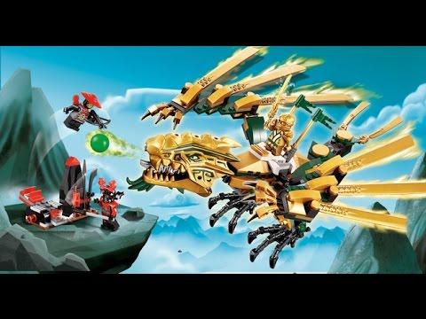 Lego ninjago le dragon d 39 or jouets lego pour les enfants youtube - Ninjago dragon d or ...