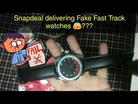 Fastrack Watch Ordered From SNAPDEAL || Unboxing & Quick Review ||