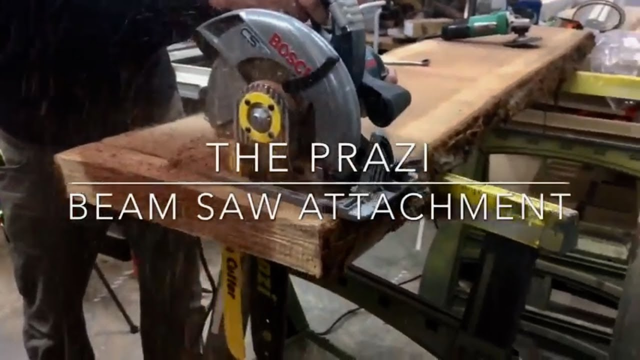 How to turn your normal power saw into an outrageous beam saw how to turn your normal power saw into an outrageous beam saw the prazi beam cutter greentooth Choice Image