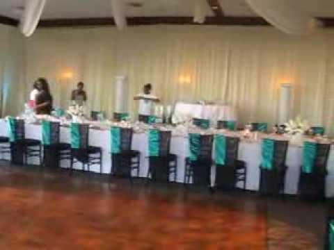 Wedding Reception Setup The Reef Restaurant Long Beach Ca