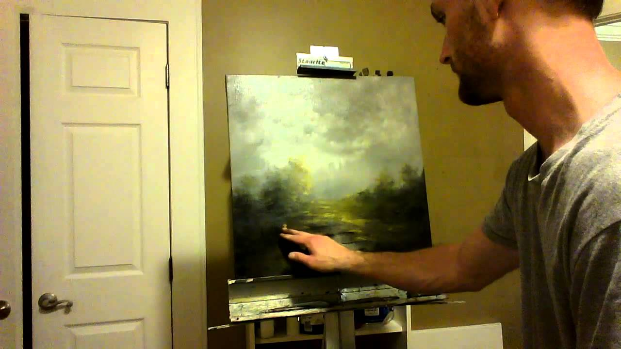 Night Landscape Paintings