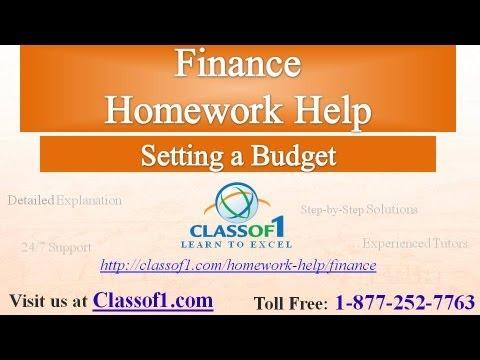 Homework Helper Assigned