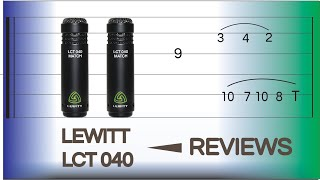 Lewit Lct 040 - Cheapest Small Diagram Mics that sound PRO