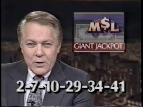 WDIV Channel 4 News Night Break 1989