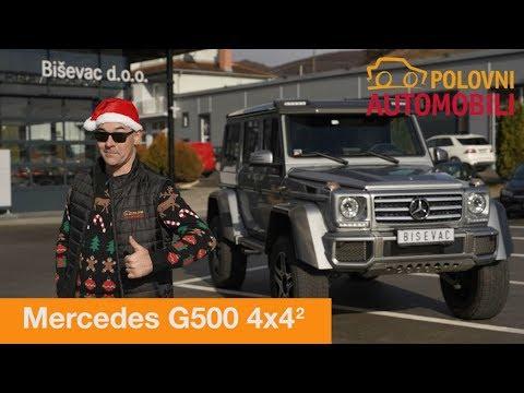 Mercedes G500 4x4 'na kvadrat'  - Novogodišnji specijal autotest - Polovni automobil