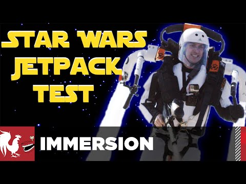 Star Wars Jetpacks in Real Life - Immersion