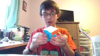 UNBOXING MY FIRST SPEED CUBE!!!