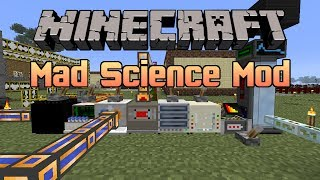 Minecraft - Mad Science Mod | DNA, Testificate Power & More!