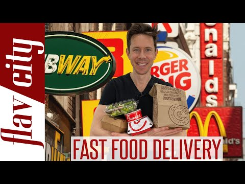 The HEALTHIEST Fast Food Delivery Options Stay At Home Survival Guide