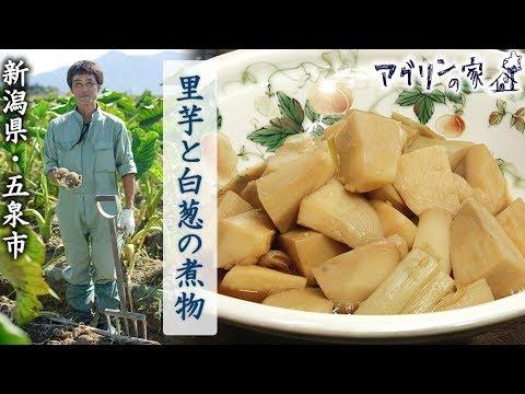 【アグリンの家】33 新潟県・五泉市「里芋と白葱の煮物」