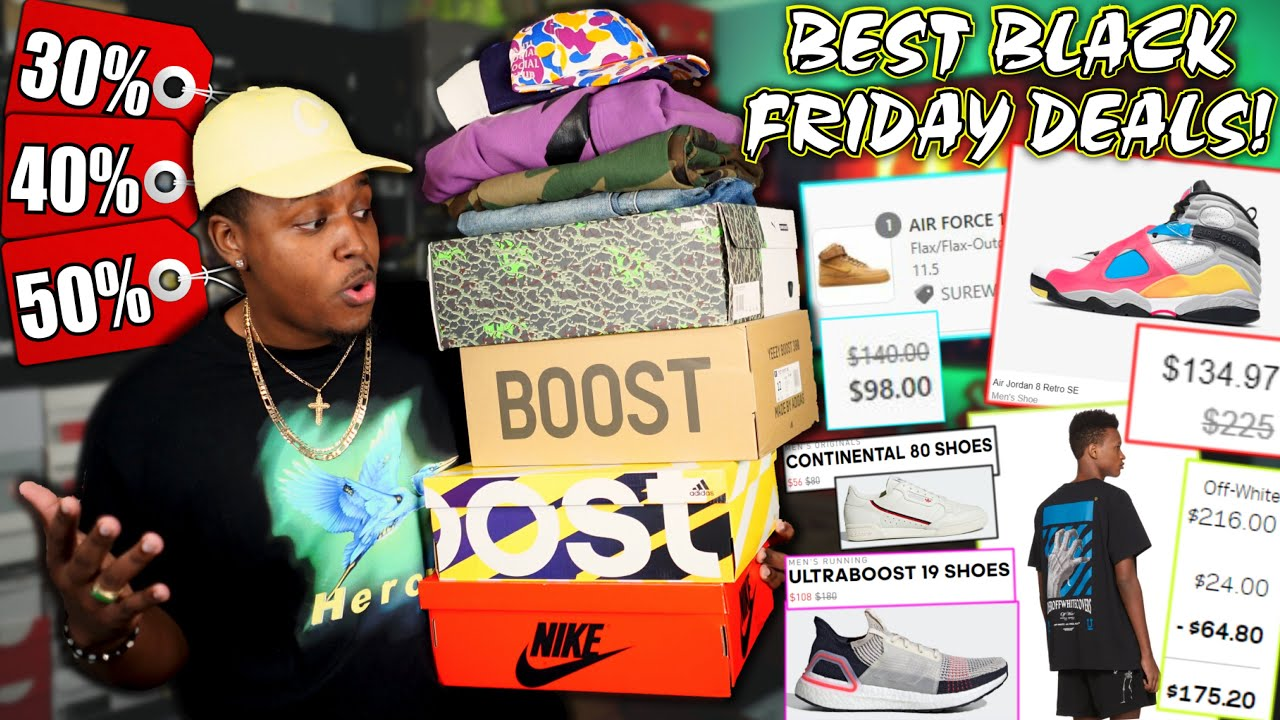 Nike's Black Friday Event takes up to 50% off sale items with extra ...