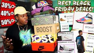 The Best Sneaker & Designer/street Wear Black Friday Deals Of 2019! Top 10 Black Friday Deals!