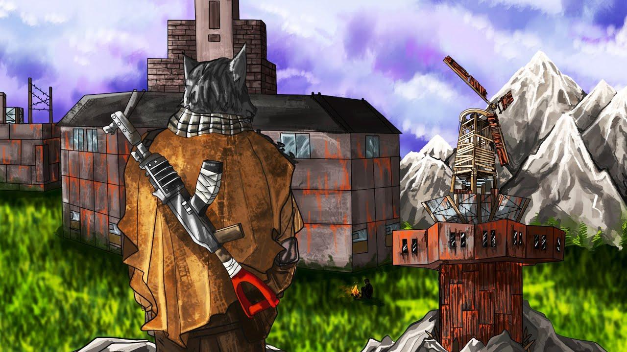 Безумные планы одиночки против кланов в Раст Rust