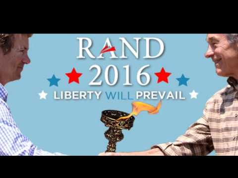 Randy Tobler Endorsing Rand Paul 2016