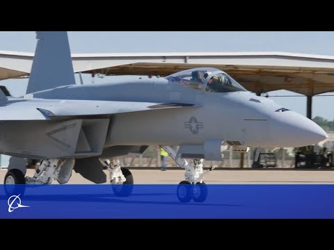 Boeing Delivers Super Hornet Block III Test Jets to U.S. Navy