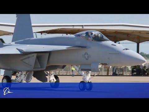 Boeing Delivers Super Hornet Block III Test Jets to U.S. Navy