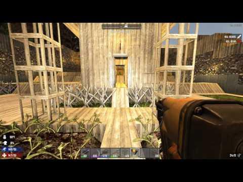 7 Days to Die (Alpha 15) #32 - Подъемный мост и памятник