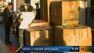 Las Noticias - Vienen a vender artesanías