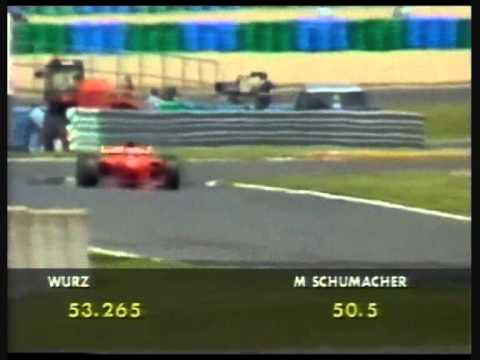 Michael Schumacher at his best II- Magny Cours 1997