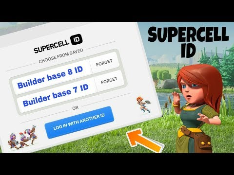 HOW TO USE MULTIPLE ACCOUNTS WITH SUPERCELL ID IN CLASH OF CLANS | COC SUPERCELL ID