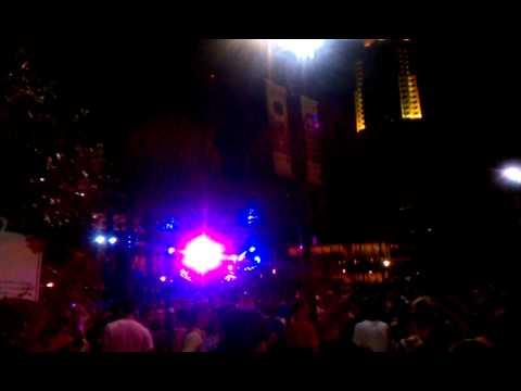 Girl Talk at the 8035 music festival 2011