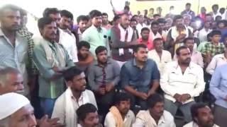 Janaspandana program at Kanakapura with Silk reelers