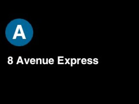 BVE Exclusive: IND 8th Avenue Express -  A Line to Rockaway Park (W/Commentary)