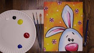 Acrylic Easter Bunny - Virtual McArt screenshot 2
