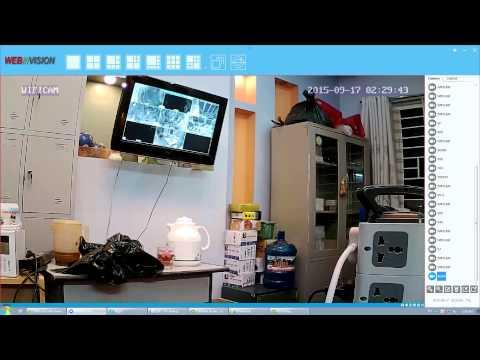 Hướng Dẫn Cài đặt Camera Ip Webvision Trên Máy Tính - Laptop PC