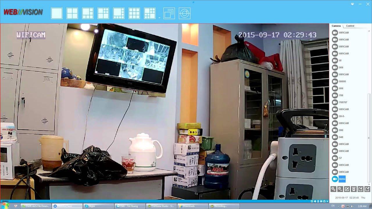 Hướng dẫn cài đặt Camera ip Webvision trên máy tính – laptop PC