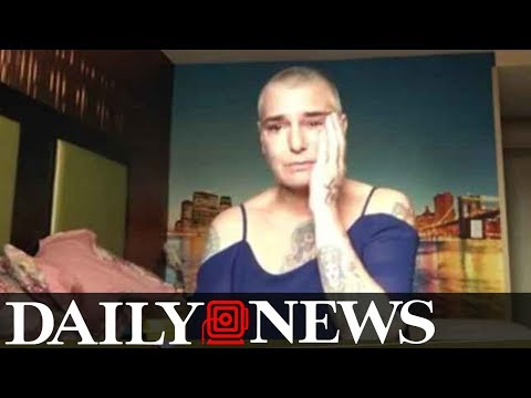 Distraught singer Sinéad O'Connor on skids at motel