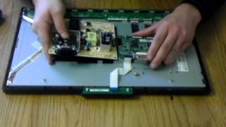 Acer AL1716 AL1916W AL2017 AL2416W LCD Computer Video Monitor Repair Teardown & Reassembly