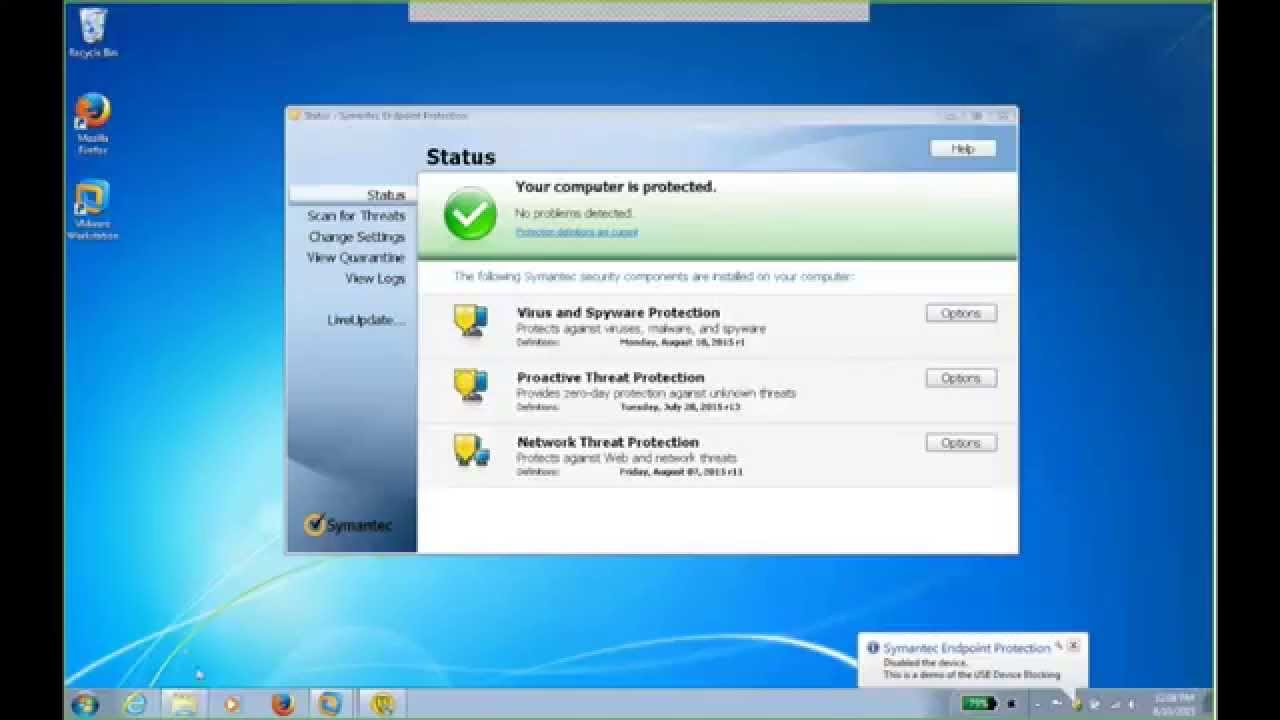 Symantec Endpoint Protection 12 1 Device Control: USB Drive Blocking