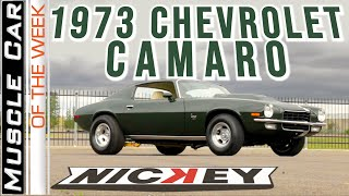 1973 Nickey Chevrolet Big Block 454 Stage III Camaro Muscle Car Of The Week Video Episode 352