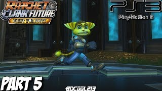 Ratchet & Clank Future Quest for Booty Gameplay Walkthrough Part 5 - Darkwater Cove - PS3 Lets Play