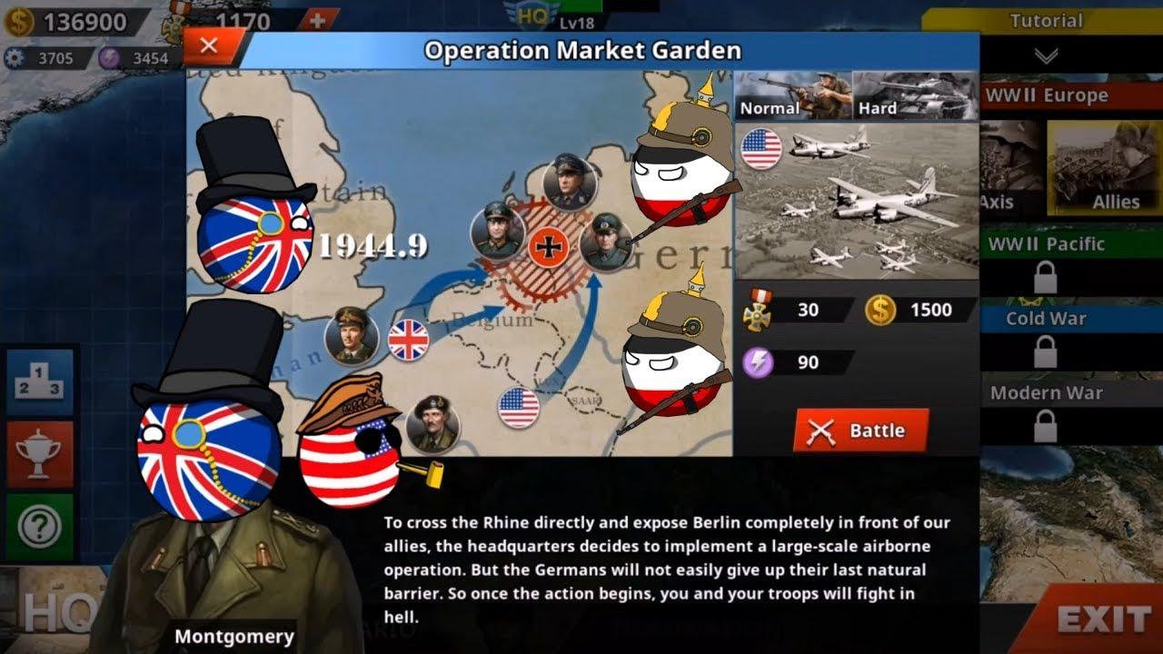 World Conqueror 4   Allies Mission 10   Operation Market Garden   No Hacks