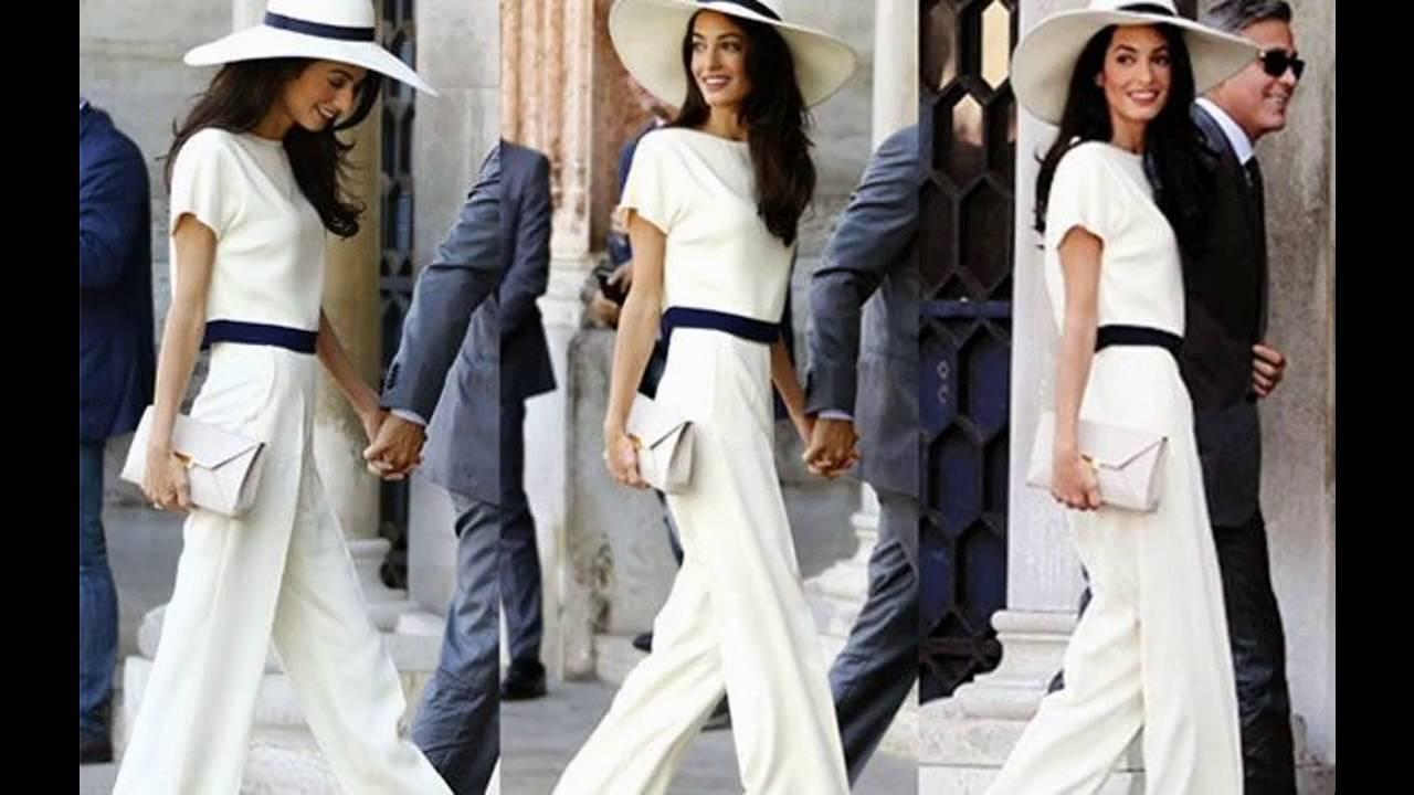 Vestidos casuales para matrimonio civil