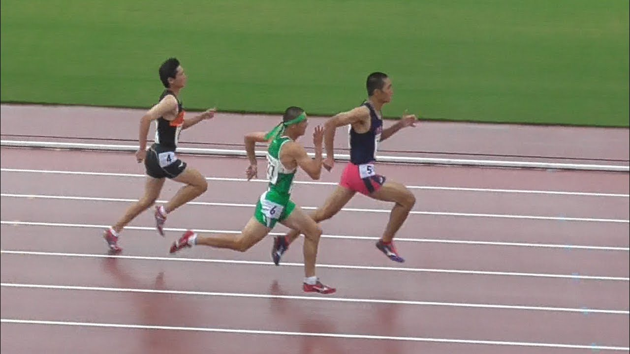 近畿 ユース 陸上 2019 1年男子400mH予選全組 -近畿高校ユース陸上2019-