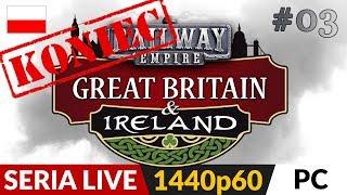 Railway Empire DLC: Wielka Brytania i Irlandia  Live #2  Zakończenie Perfekcyjne rozegranie :)