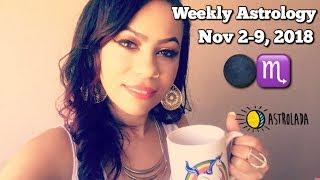 Weekly Horoscope for Nov 2-9, 2018 & Coffee Talk! | New Moon in Scorpio