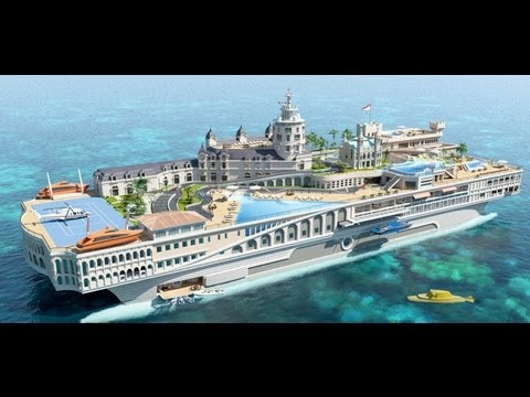 This Yacht Recreates an Entire City