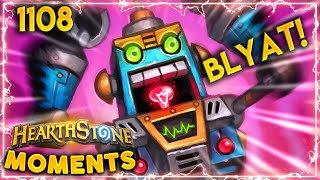 Hecklebot Will Make You INSANE With ANGER | Hearthstone Daily Moments Ep.1108
