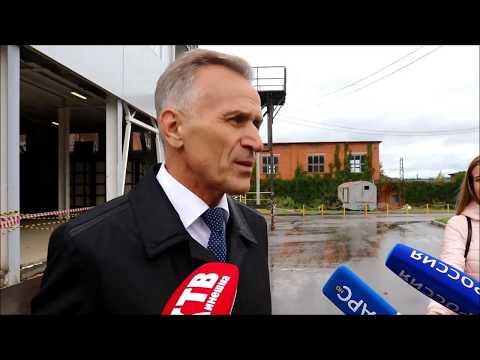 Губернатор посетил Наволоки