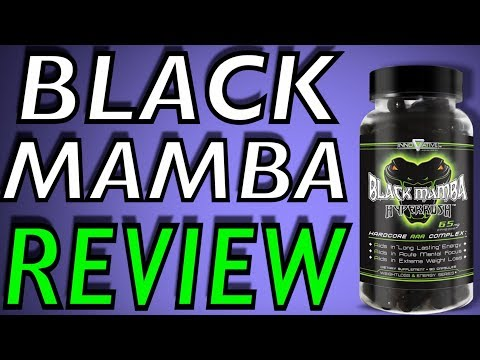 Black Mamba Fat Burner By Innovative Laboratories Review